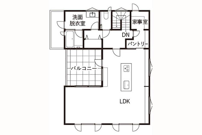 天童芳賀LiFE LiVEモデルハウス(天童南住宅公園内)